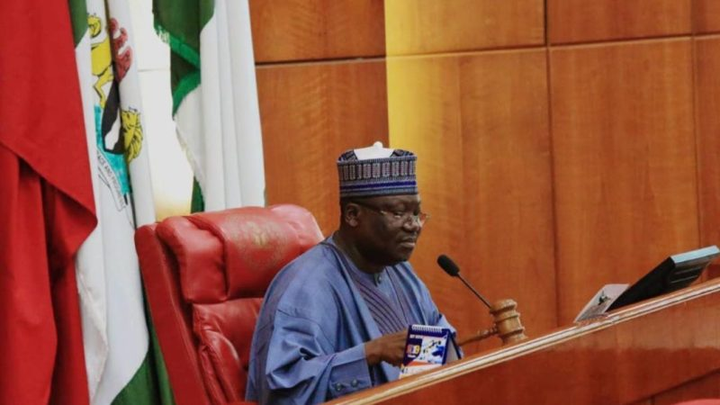 Lawan Senate committees