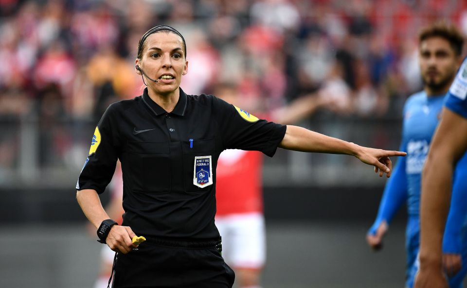 UEFA female referee