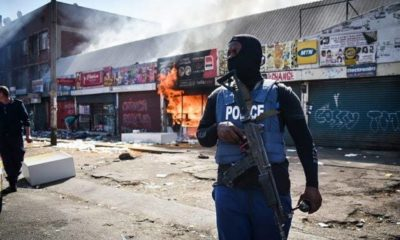 South African police xenophobic attacks
