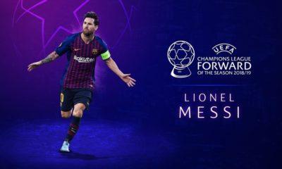 Messi forward
