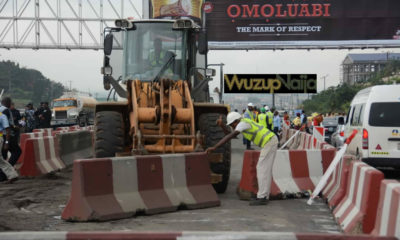Lagos Ibadan Expressway: Julius Berger begins reconstruction of Kara-Berger [Photos]