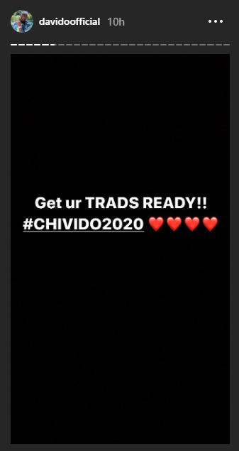 Davido 2020