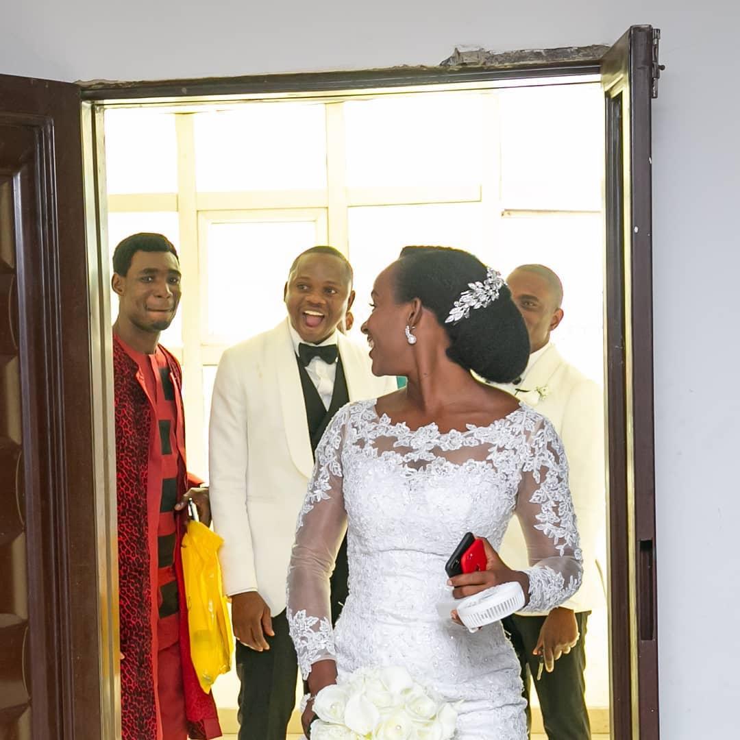 No reception wedding