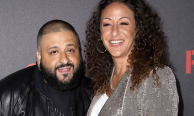 DJ Khaled and wife