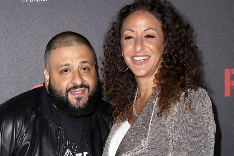 DJ Khaled and wife