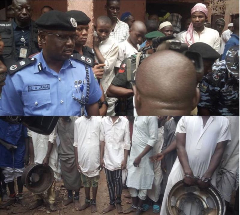 Image result for President Buhari condemns abuse of children in Kaduna