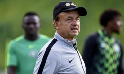 Gernot Rohr world cup