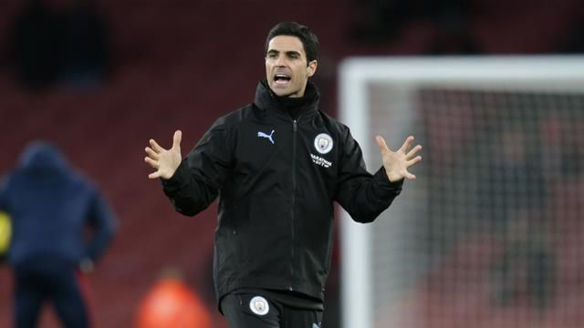Arteta Arsenal Coaching