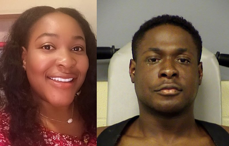 Image result for images of Former Texas football player Michael Egwuagu caught on camera confessing to killing his pregnant sister