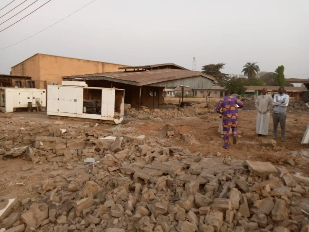 Presidency Berates Demolition of Ile Arugbo