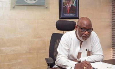 COVID-19: Governor Akeredolu signs infectious disease law