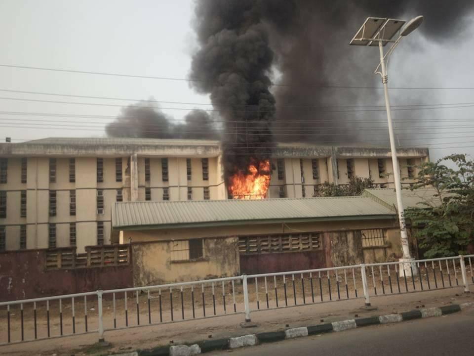 burning hostel