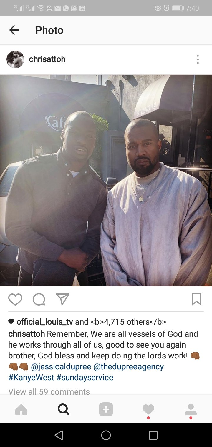 Chris Attoh and Kanye