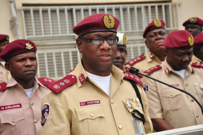 FRSC redeploys 119 senior officers