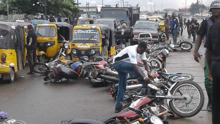 Image result for Lagos bans okada, Marwa