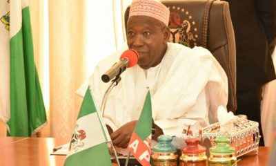 We have made history for appointing two blood brothers as Emirs- Ganduje