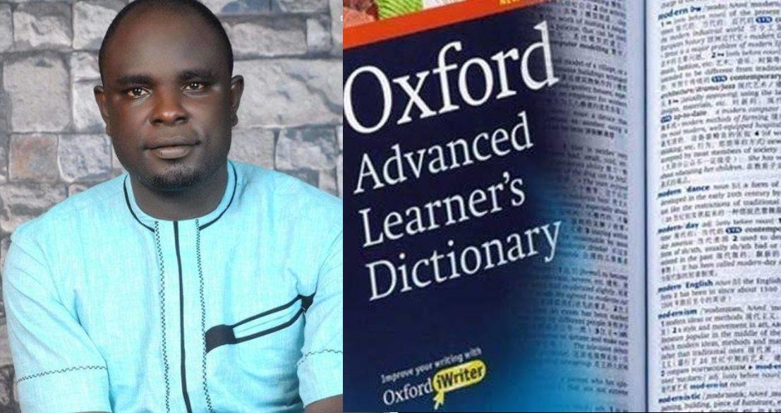Nigerian English Oxford dictionary