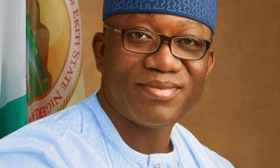 Coronavirus: Fayemi says he met with two persons who tested positive