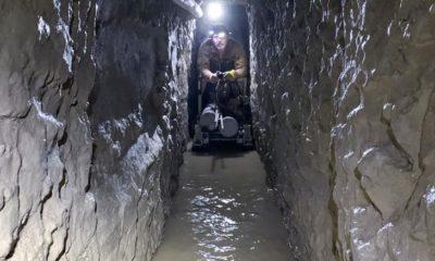 drug-smuggling tunnel