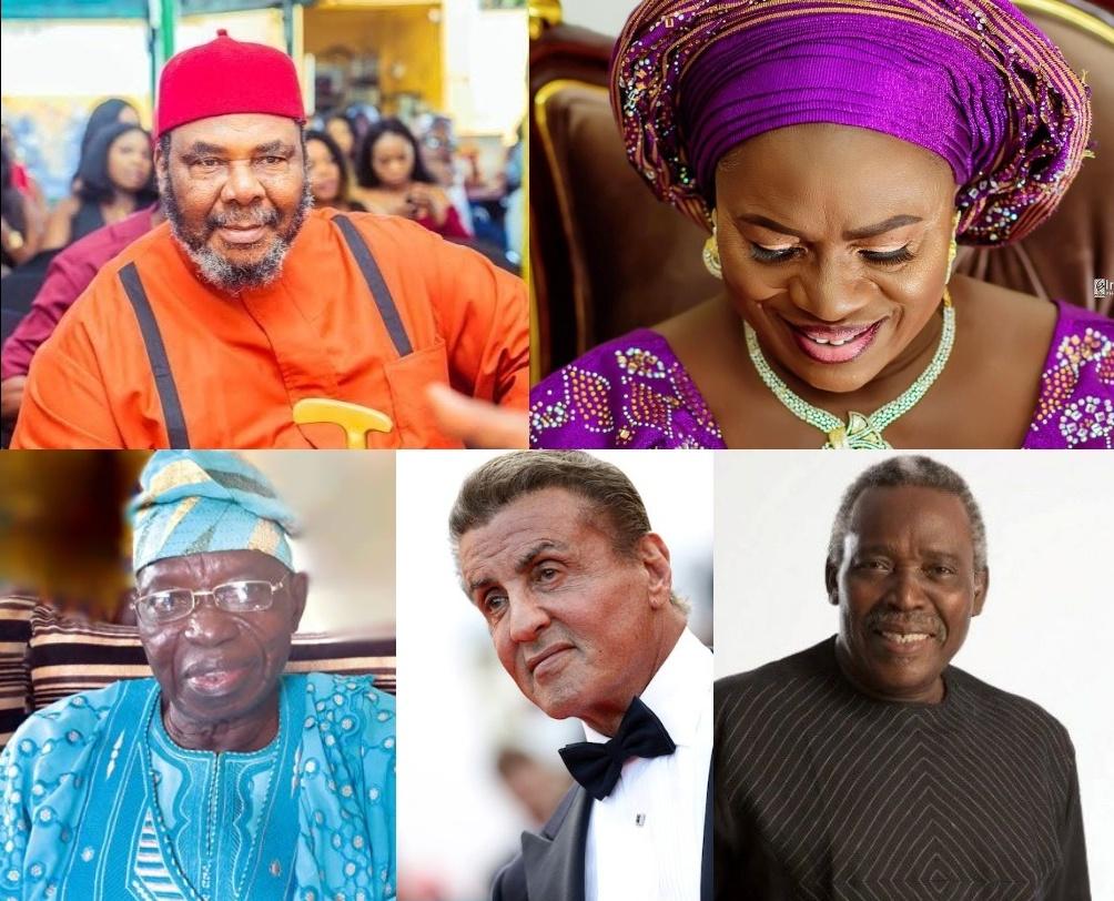 Nollywood actors in 70