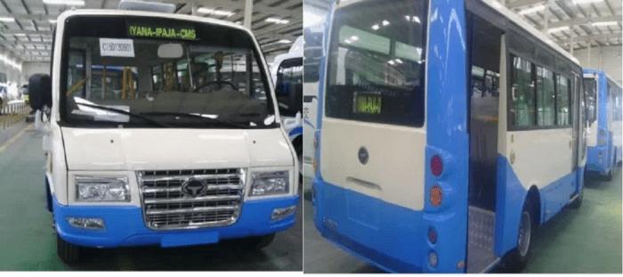 Lagos 65 buses