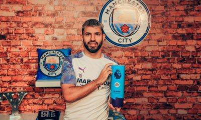 Aguero player of month