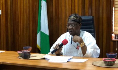 Lockdown: Your ID card is your pass, Lai Mohammed tells journalists