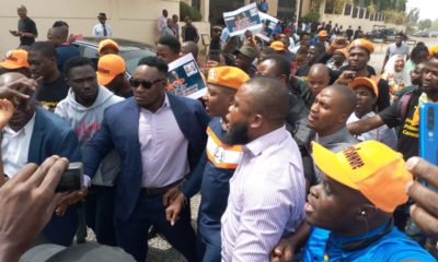 Sowore protesters