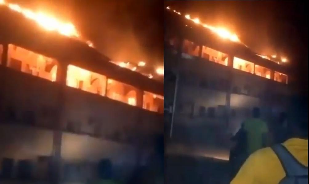 DELSU hostel fire