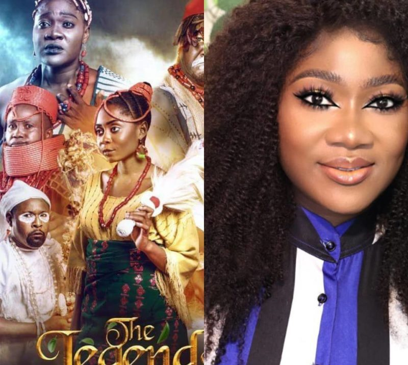 The Legend of Inikpi: Mercy Johnson tears up as movie gets massively endorsed by Nigerians