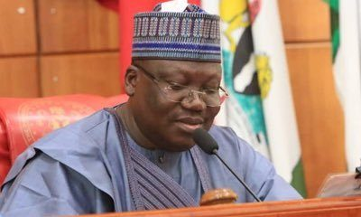 Lawan seeks Finland, Nigeria pact on Hi-Tech, trade