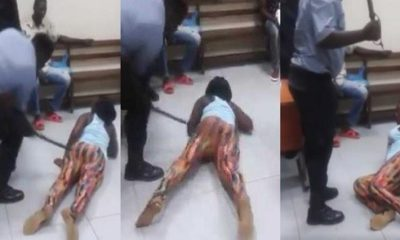 Pastor flogs woman 48 strokes of cane inorder for her to get a husband