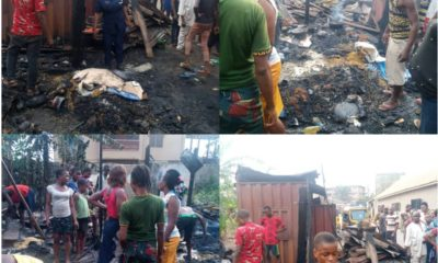 Fire razes properties in Anambra community, NSCDC reacts