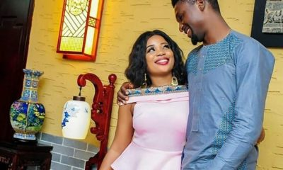 'I thought they were robbers', Adeniyi cries out over birthday surprise from wife during midnight prayer
