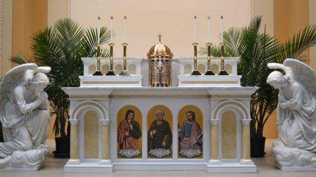 Coronavirus: Catholic church in Lagos suspends sprinkling of water, handshakes at mass over virus