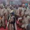 PHOTOS: Oyo lawmakers wear Amotekun outfits to pass bill