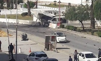 Man 'blows himself up near US embassy' in broad daylight