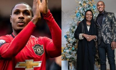 Man United Star, Odion Ighalo, celebrates mother on her birthday