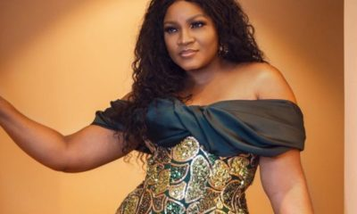 Actress Omotola slays in Lome (Photos)