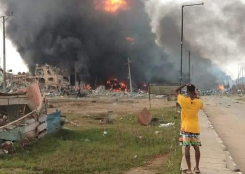 JUST IN: Three more corpses recovered from Abule-Ado explosion
