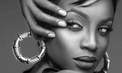 Seyi Shay shares sultry bedroom photos