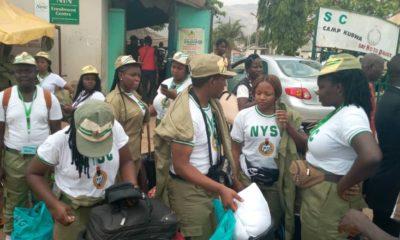 Coronavirus: NYSC corp members leave orientation camp in Abuja
