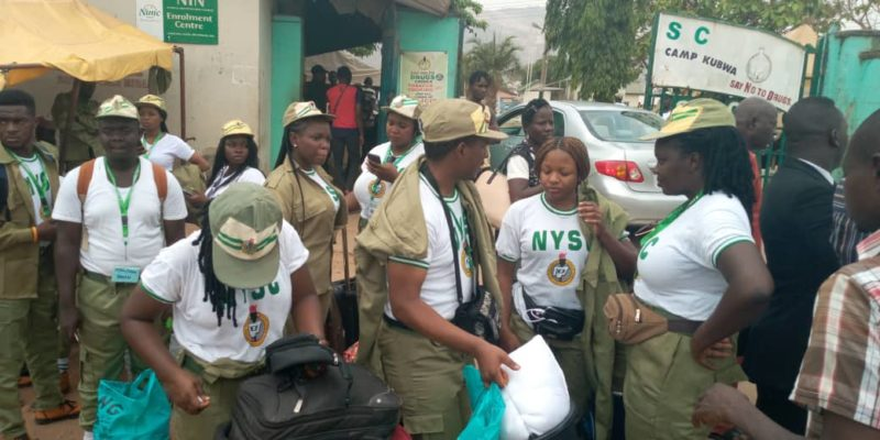 Coronavirus: NYSC corp members leave orientation camp in Abuja