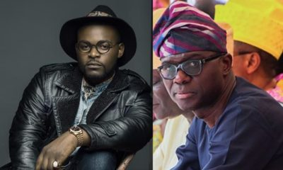 Abule Ado explosion: What kind of joke is this? Falz blasts Sanwo-Olu for begging Nigerians to donate