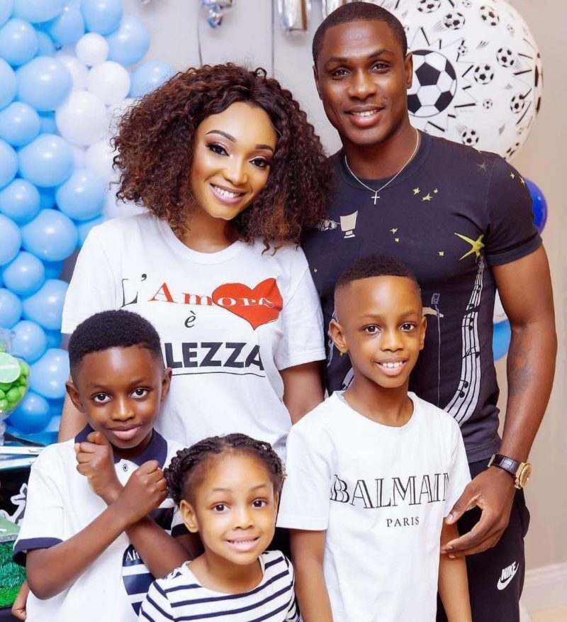 Jude Ighalo's wife, Sonia reverts to her maiden name weeks after shading him over his sister's death