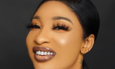 Tonto Dike set to share 200 bottles of sanitizers