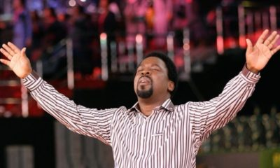 After two unfulfilled prophesies, T.B Joshua decides to break Covid-19 chains