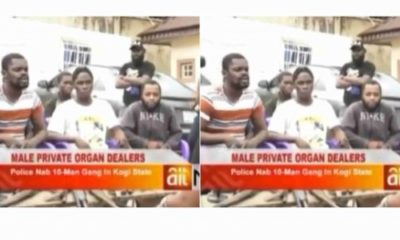 Police arrest 10-man human-penis traders in Kogi