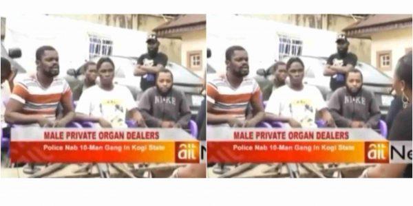 Police arrest 10-man human-penis traders in Kogi