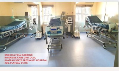 Coronavirus: Adeboye donates ICU beds, ventilators to Lagos, others